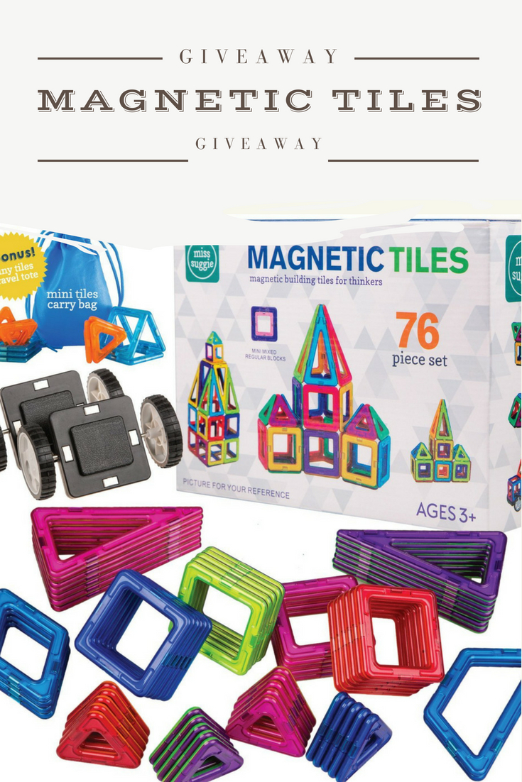 Giveaway - Magnetic Tiles STEM Toys